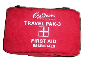 Outdoors First İlk YardımTravel Pak-3