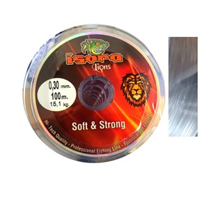İsora Lion Fluorocarbon Coated Soft Strong Misina 100 mt