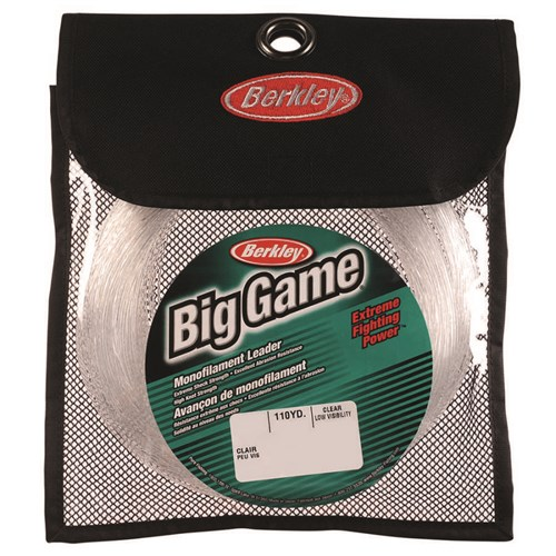 Berkley Big Game Leaders Monofilament Olta Misinası 50m