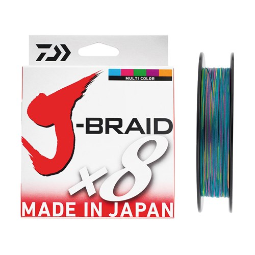 Daiwa JBraid 8B 300 M Multicolor İp Misina
