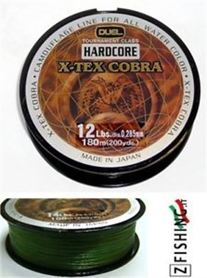 HARDCORE X-TEX COBRA 150mt