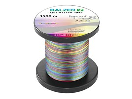 BALZER IRONLINE 8 MULTICOLOR, 1500MT, 0,15MM, 10,7KG